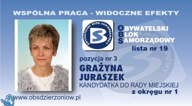 OBS Grażyna Juraszek